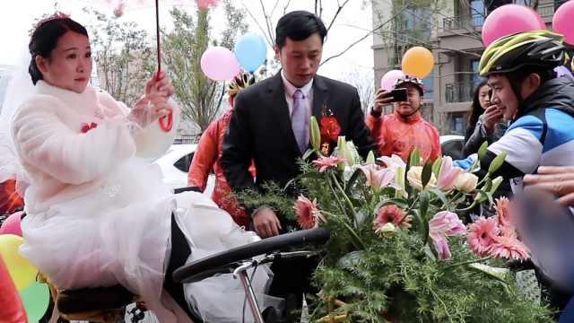 他结婚骑行20里,50位骑友甜蜜助攻