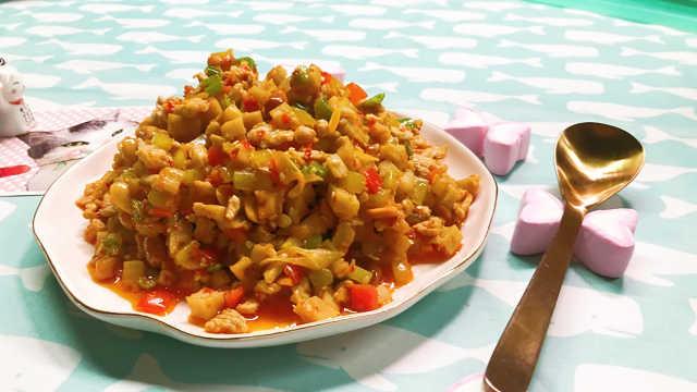 八寶辣子一上桌,飯饃通通入肚中!