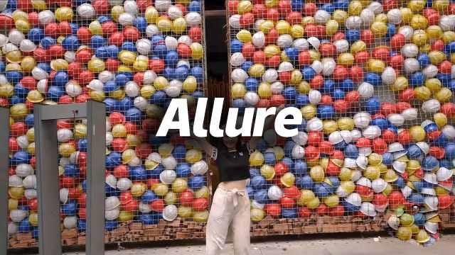 CK翻跳《Allure》,俏皮活泼