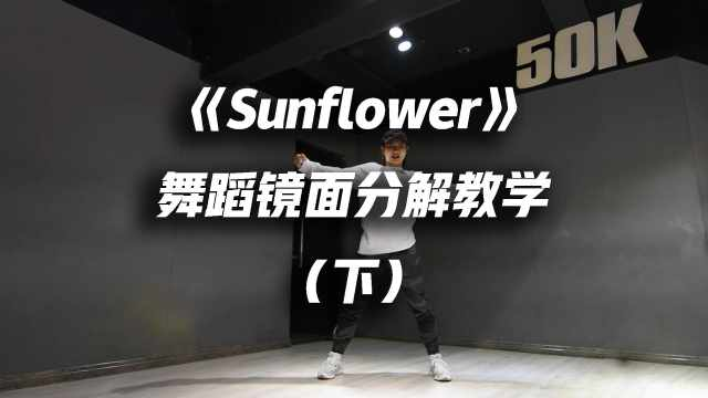 《Sunflower》舞蹈教学 (下)