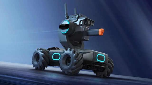 大疆首款教育机器人发布
