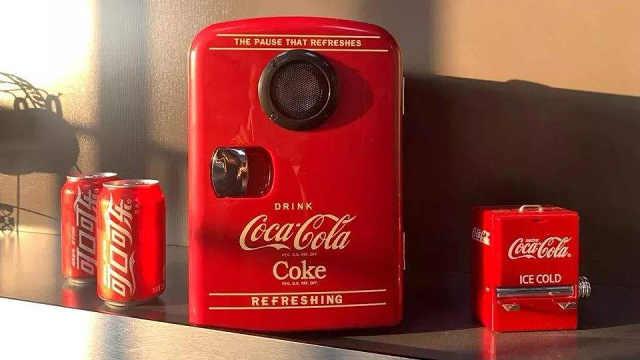 可口可乐跨界设计出会唱歌的冰箱