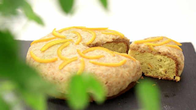 香橙杏仁蛋糕:流行百年的杏仁蛋糕