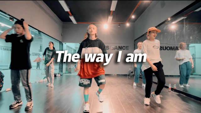 卷毛编舞《The way I am》全心投入