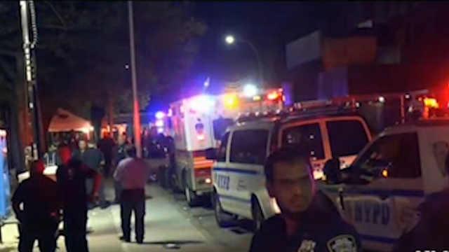 美国纽约发生枪击事件造成1死11伤