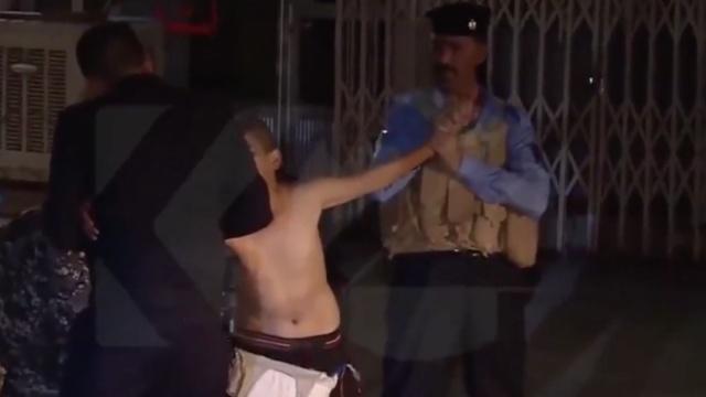 """伊拉克警察生擒""""儿童炸弹"""""""
