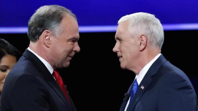 3分钟看完美国副总统辩论