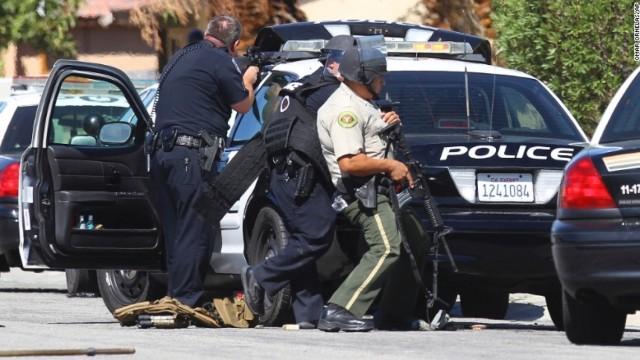 美国发生袭警枪击案 2名警察身亡