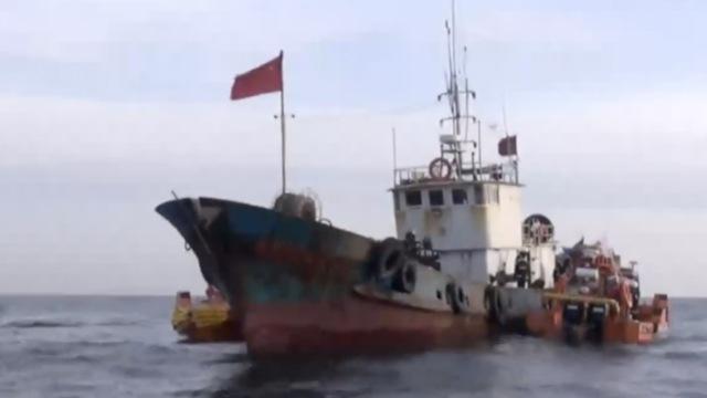 韩媒称中国渔船撞沉韩国海警快艇