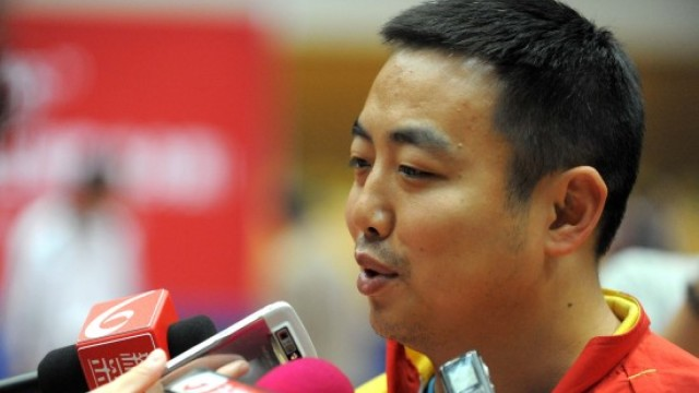 刘国梁:决赛前马龙张继科一起热身