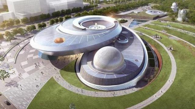想四十五度仰望星空?来上海天文馆