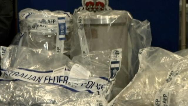 澳洲检获大量毒品,两中国公民被捕