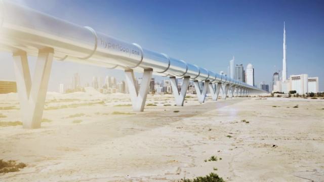 超级高铁将落户迪拜,时速赛飞机