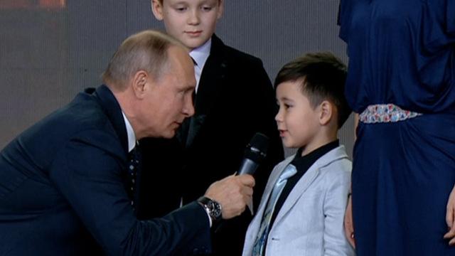 普京上地理课:俄罗斯国界没有终点