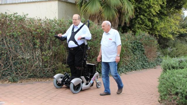 站着走的轮椅,你见过吗?