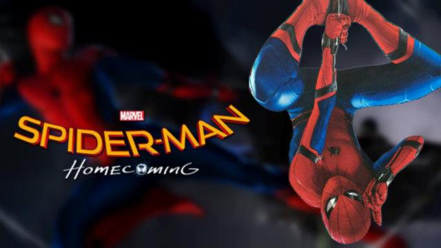 Tom Holland版蜘蛛侠来了:帅气无比