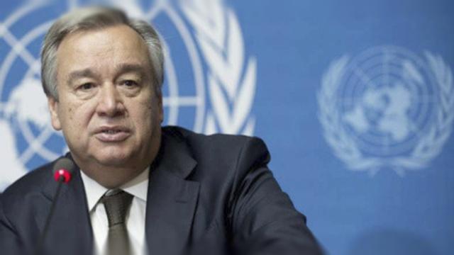直击:联合国新秘书长古特雷斯就职