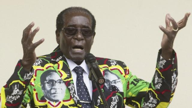 92岁穆加贝将再次参选津巴布韦总统