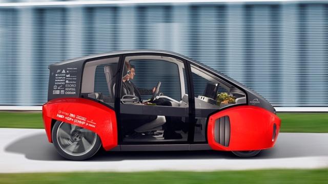 CES2017 | 带花园的未来汽车