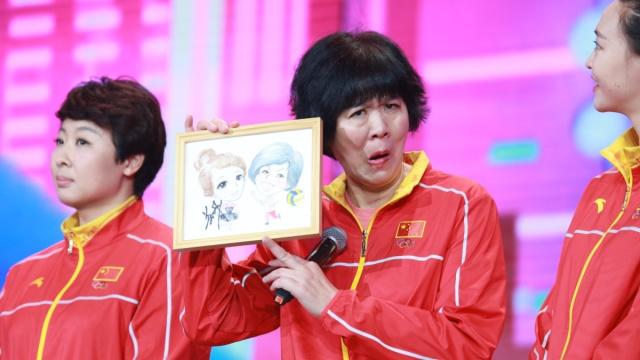 鸡年春晚,郎平领衔奥运冠军亮相