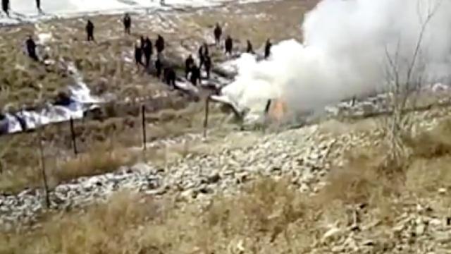 吉林一小型飞机沈阳坠毁,2人遇难