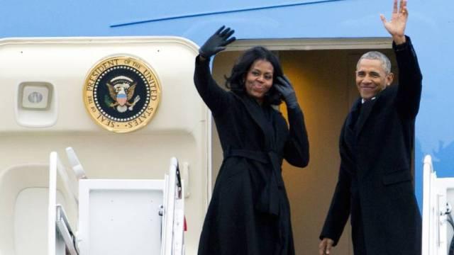 奥巴马前往芝加哥,今发表告别演讲