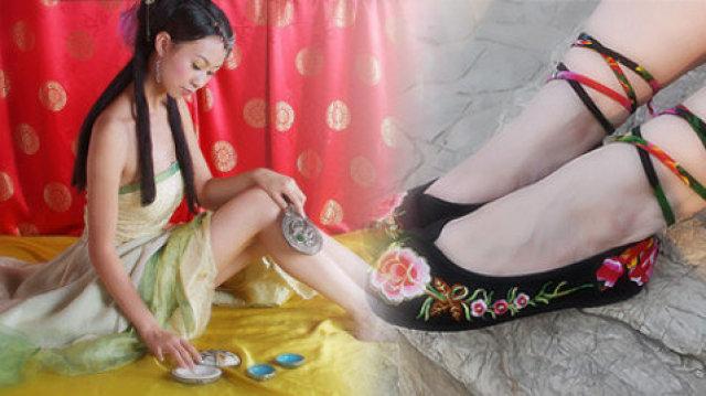 100秒看清古代女性脚上那些事儿