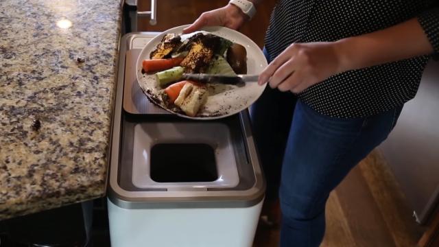 绿色环保,厨余垃圾变肥料