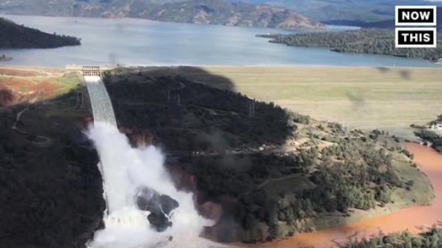 加州大坝可能溃坝,18万居民撤离