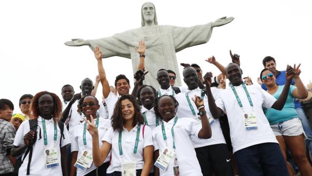 2017劳伦斯首奖:奥运难民代表团