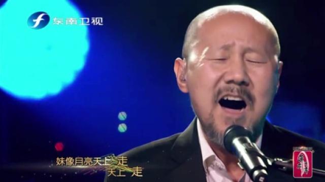 腾格尔演唱《小河淌水》