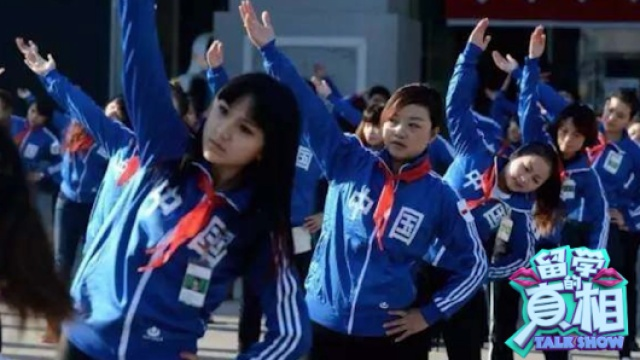 中国学生做了套操就把老外镇住了