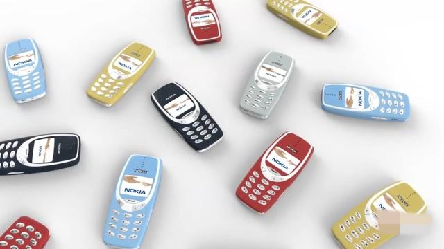 12年后,砖机王诺基亚3310又回来了