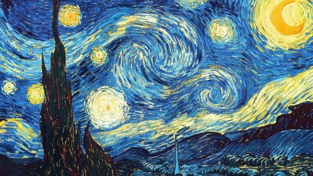 梵高《星夜》背后的惊人数学秘密