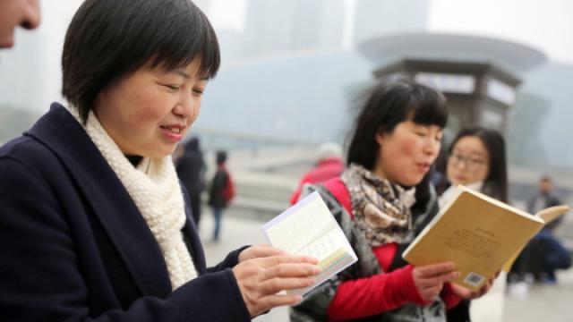 杭州也有朗读亭 董卿你听到了吗