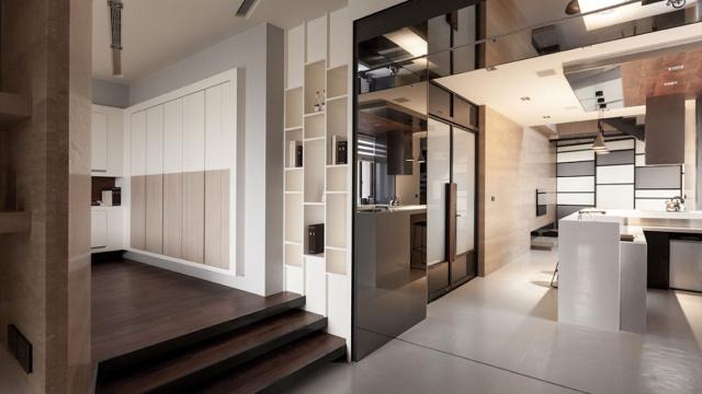 极具现代感的台湾Lo住宅