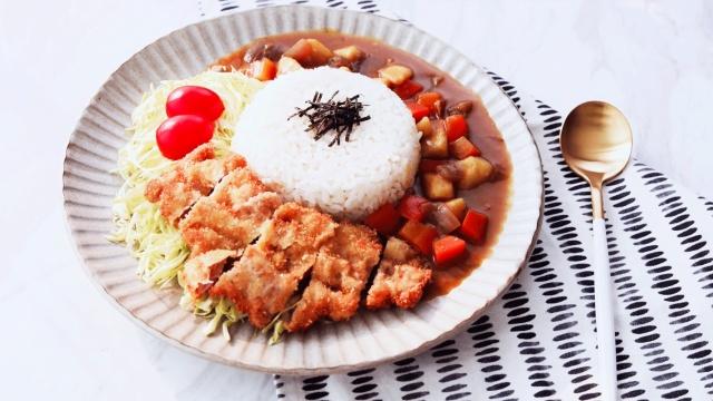 炸猪排咖喱饭