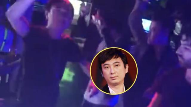 王思聪酒吧尬舞,网友:老年disco