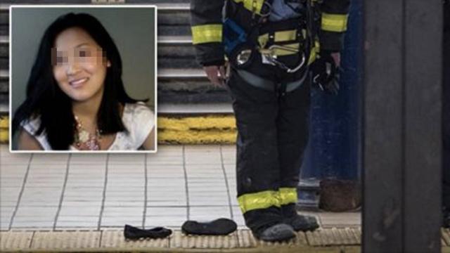 华裔女子纽约坠轨,右手右脚遭截肢