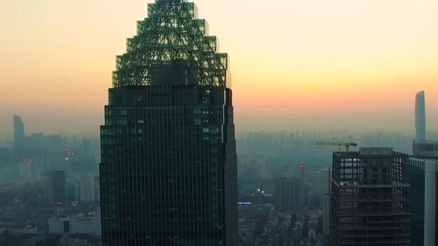 这栋楼曾经霸占华中第一高楼十年!
