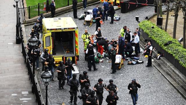 英国议会恐袭案凶徒确认,ISIS认领
