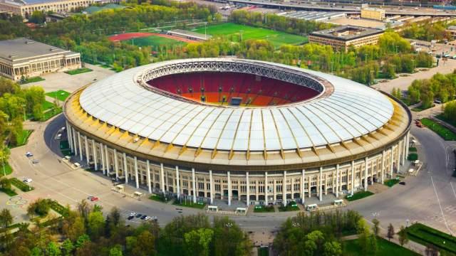 终于修好了:鸟瞰2018世界杯主场馆