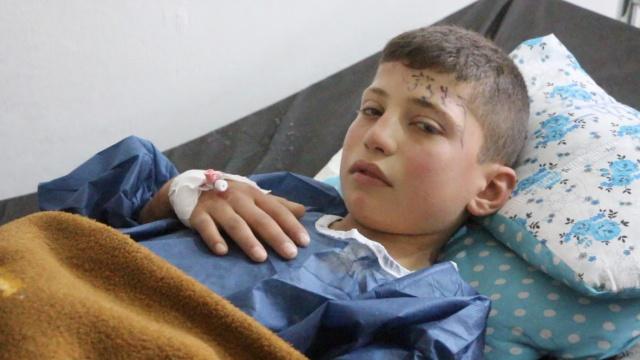 疑遭毒气袭击,叙利亚急缺医疗设施