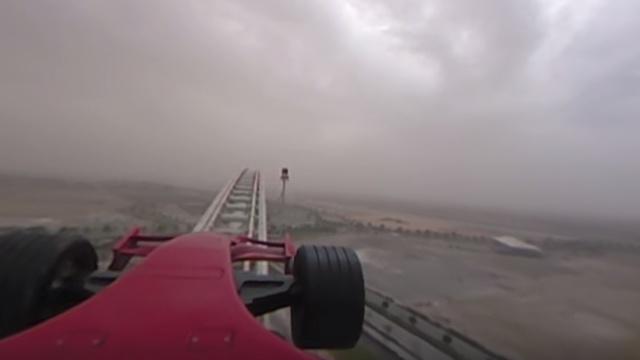 VR体验世界上最快的过山车
