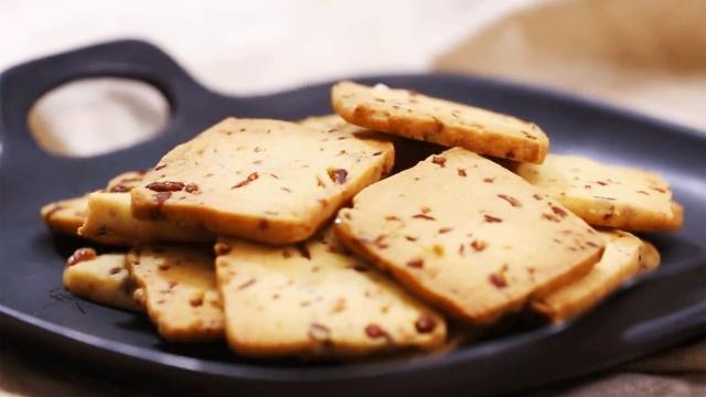 小白必学,超火爆美味蔓越莓饼干