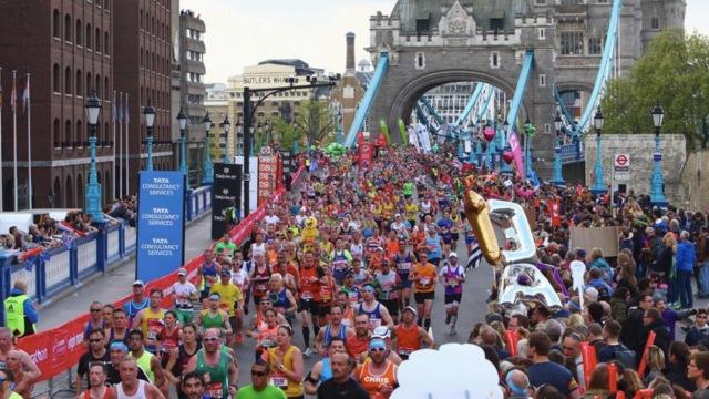 伦敦马拉松赛,英国王室成员来助威