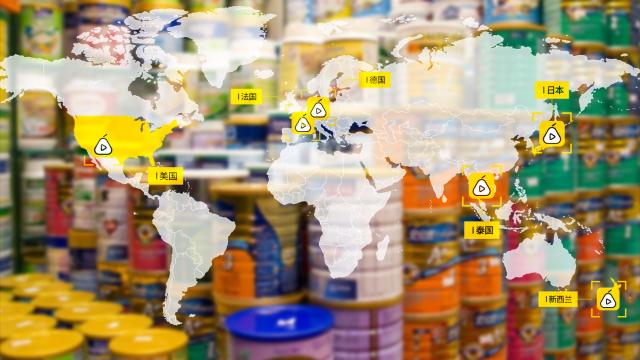 一百多块人民币,哪国能买好奶粉?