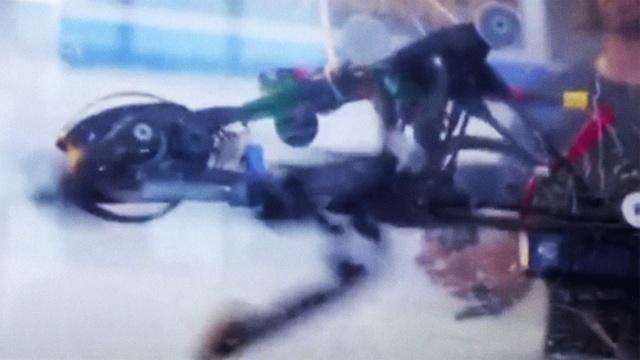 这台机器人,可以像鸵鸟一样飞奔