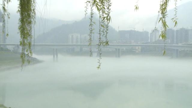 想看平流雾,彭水是个好地方,走起