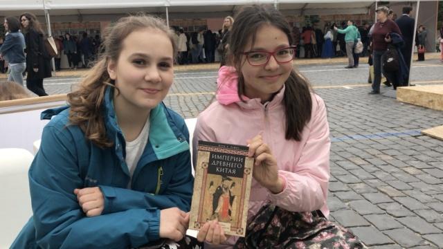 俄罗斯红场图书节,中国内容受欢迎